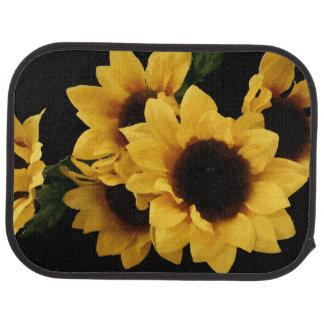 Yellow Sunflowers Floor Mats Car Mat
