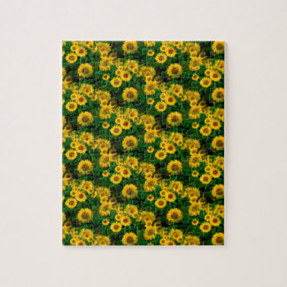 yellow sunflowers jigsaw puzzle