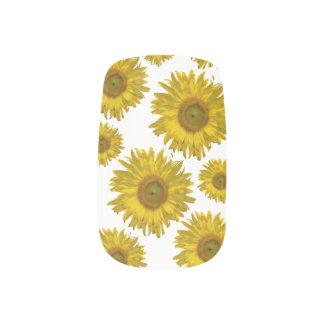 Yellow Sunflowers Minx Nails Minx Nail Art