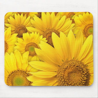 Yellow Sunflowers Mousepads