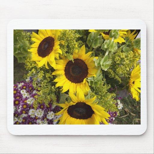 Yellow Sunflowers Mousepads