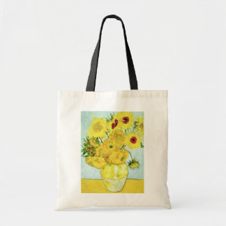 yellow Sunflowers, Vincent van Gogh flowers Tote Bag