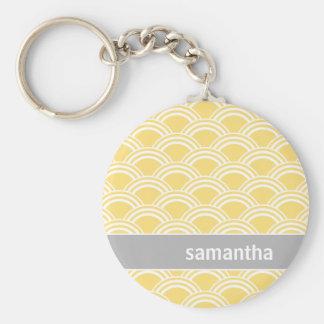 Yellow Sunrise Keychain
