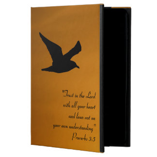 Yellow Sunset Sky Bird in Flight Faith Bible Verse Powis iPad Air 2 Case
