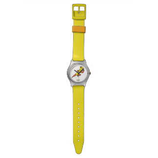Yellow Super Hero Watch
