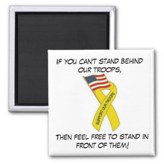 Yellow Support Ribbon.. Magnet