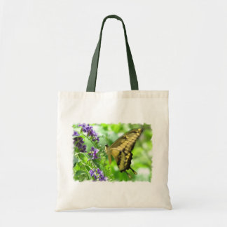 Yellow Swallowtail Butterfly Tote Bag
