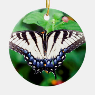 Yellow Swallowtail Ceramic Ornament