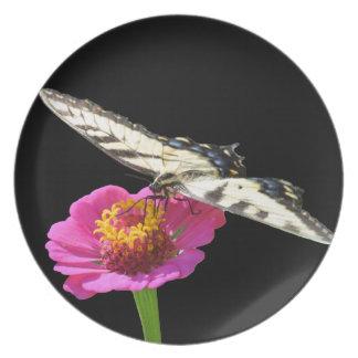 Yellow Swallowtail Party Plates