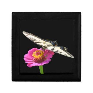 Yellow Swallowtail Trinket Box