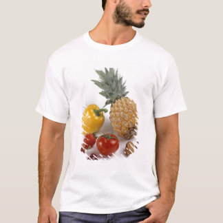 Yellow sweet pepper, tomato, pineapple, T-Shirt