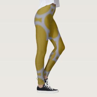 Yellow Swerve Leggings