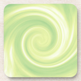 Yellow Swirl Coaster