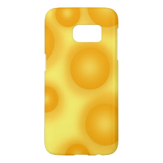 Yellow Swiss Cheese Samsung Galaxy S7 Case