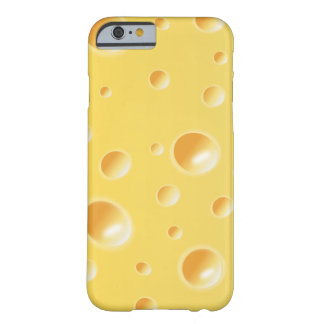 Yellow Swiss Cheese Slice Texture iPhone 6 case Barely There iPhone 6 Case