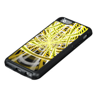 Yellow Tape Roller Coaster Ride on Fractal Rails OtterBox iPhone 6/6s Case
