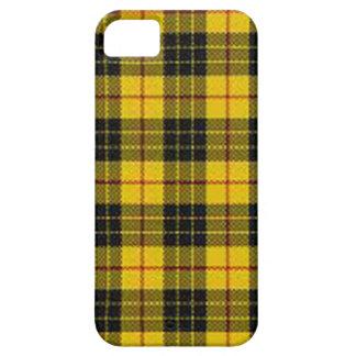Yellow tartan iPhone 5 case