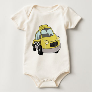 Yellow Taxicab Baby Bodysuit