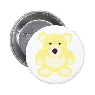 Yellow Teddy Bear Pin