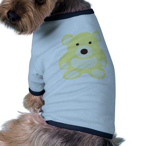 Yellow Teddy Bear Dog Clothing