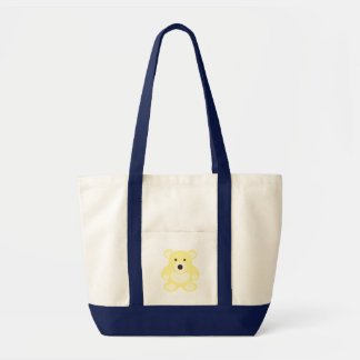 Yellow Teddy Bear Impulse Tote Bag