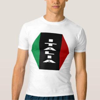 Yellow tee-shirt Performance ITALIA T-shirt