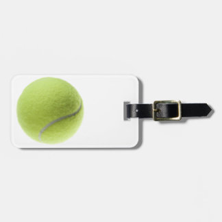 Yellow Tennis Ball Customized Template Luggage Tag
