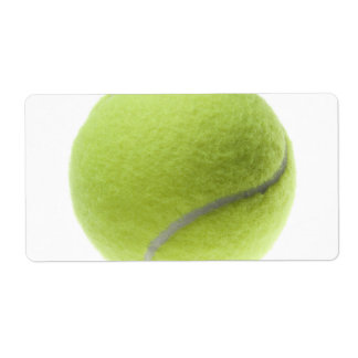 Yellow Tennis Ball Customized Template Shipping Label