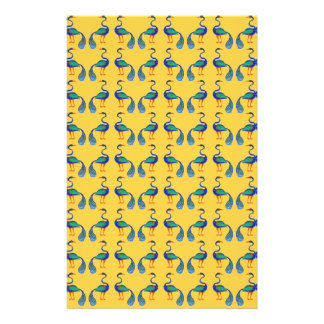 Yellow textile stationery
