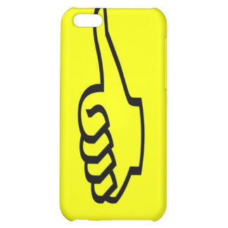 Yellow Thumbs Up iPhone 4 Case