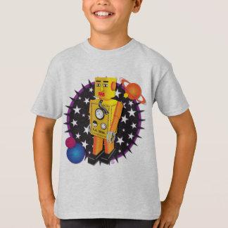 Yellow Tin Robot T-Shirt