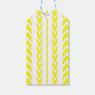 Yellow Tire Tread Gift Tags