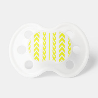 Yellow Tire Tread Pacifier