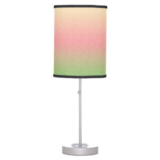 Yellow to Pink Multicolored Lamp with Texture