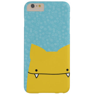Yellow Toothy Cat Phone Case
