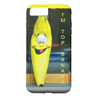 YELLOW TOP BANANA FUN iPhone 7 CASE