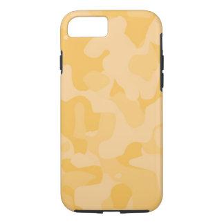 Yellow Tough Camoflauge iPhone 7 Case