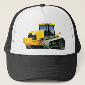 Yellow Tracked Tractor Trucker Hat