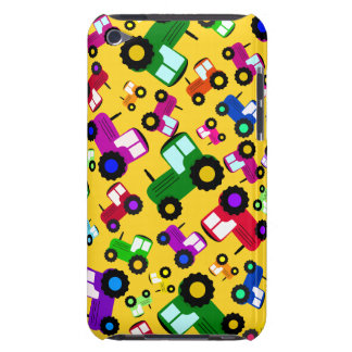 Yellow tractors Case-Mate iPod touch case