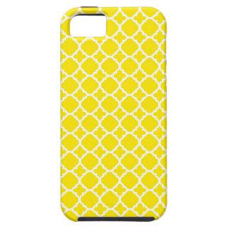 Yellow Trellis Design iPhone 5 Cover