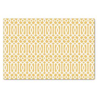 Yellow Trellis   Tissue Paper