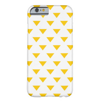 Yellow Triangles Phone Case