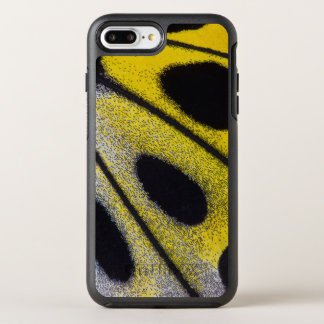 Yellow tropical butterfly close-up OtterBox symmetry iPhone 8 plus/7 plus case