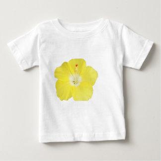 Yellow Tropical Hibiscus Flower Baby T-Shirt
