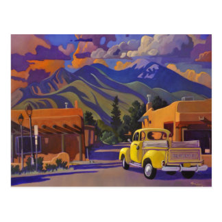 Yellow Truck POSTCARD by Art West