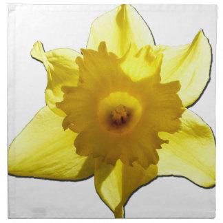 Yellow Trumpet Daffodil 1.0 Napkin