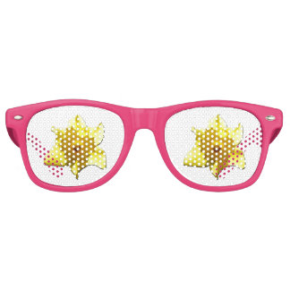Yellow Trumpet Daffodil 1.0 Party Sunglasses