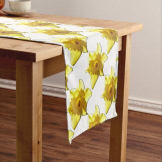 Yellow Trumpet Daffodil 1.0 Short Table Runner