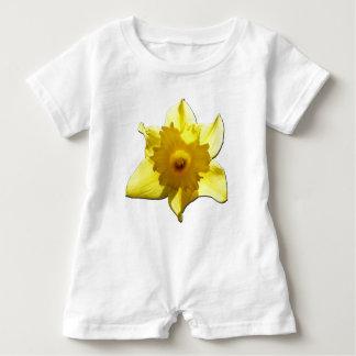 Yellow Trumpet Daffodil 1.5.5.b Baby Romper