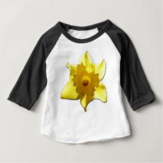 Yellow Trumpet Daffodil 1.5.5.b Baby T-Shirt